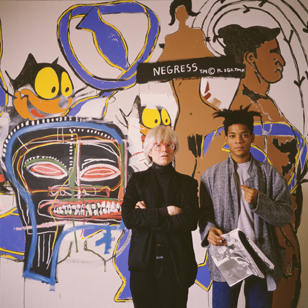 Jean Michel Basquiat and Andy Warhol collaboration, 1985