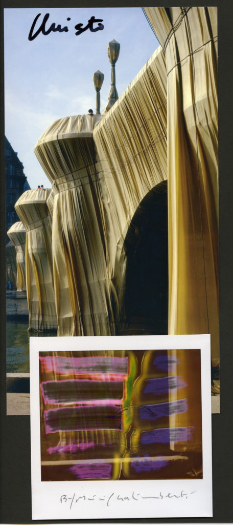 Christo - Ponte Nuovo, Parigi - Land Art