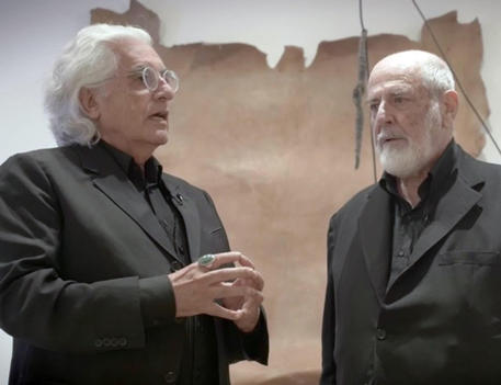 Germano Celant e Michelangelo Pistoletto